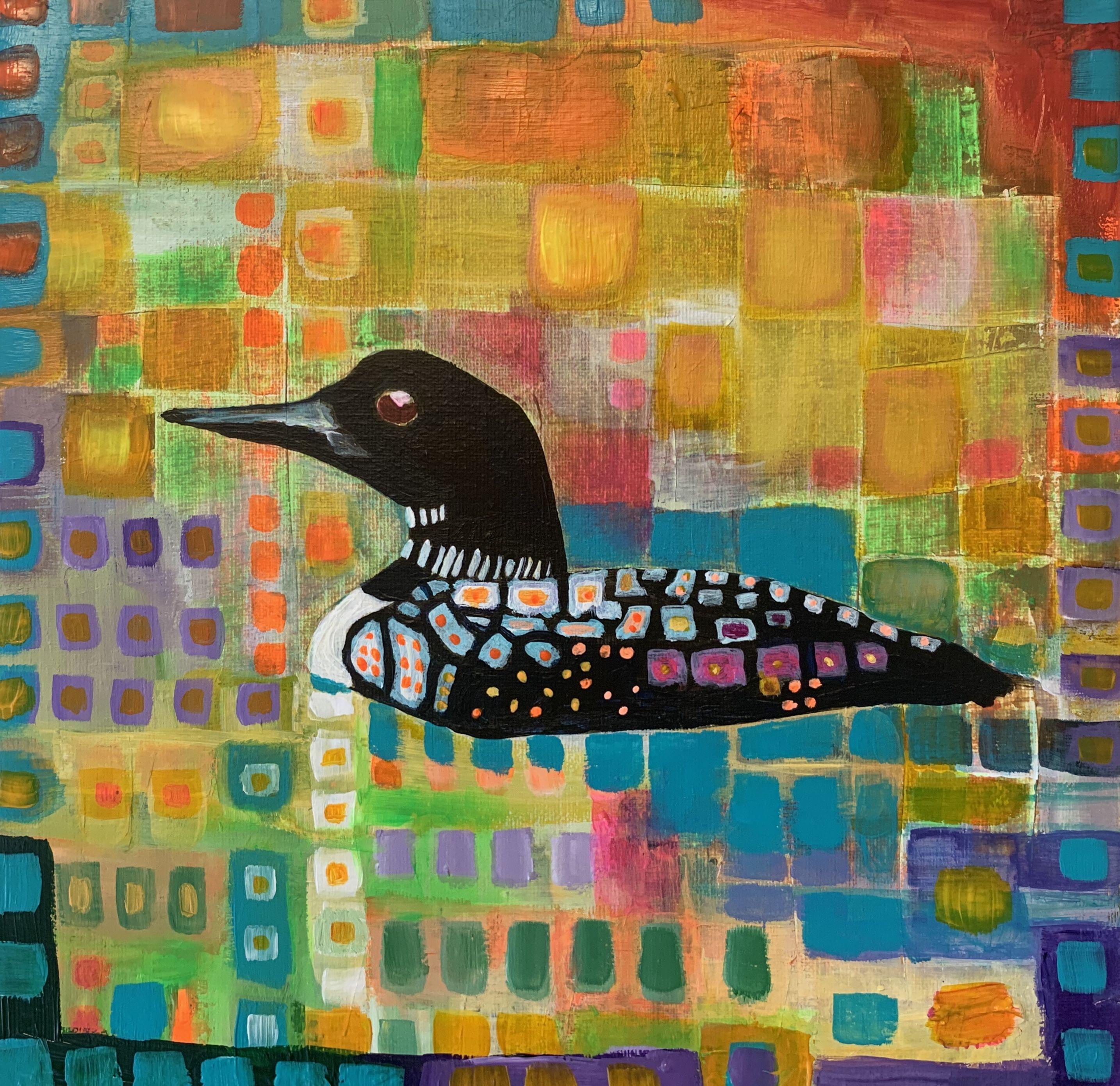 Beautiful loon in 2020 painting painting studio art