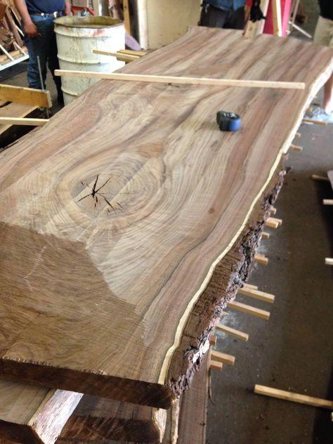 Walnut Slab Table Build