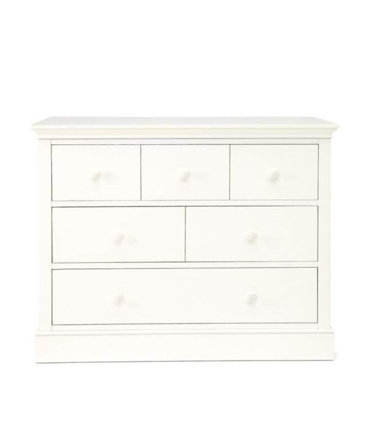 Oxford Wooden 3 Drawer Dresser Baby Changing Unit Pure White Baby Changing Unit White Furniture Sets Toddler Furniture