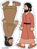 photograph about Bible Character Puppets Printable identified as Crafts for the tale of The Optimistic Samaritan, bible temperament