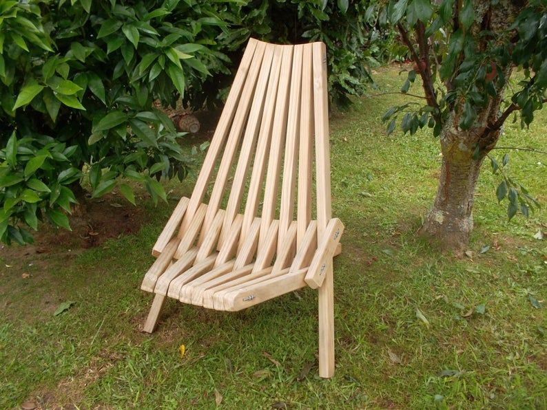 Folding stick chair PDF downloadable file Etsy in 2020