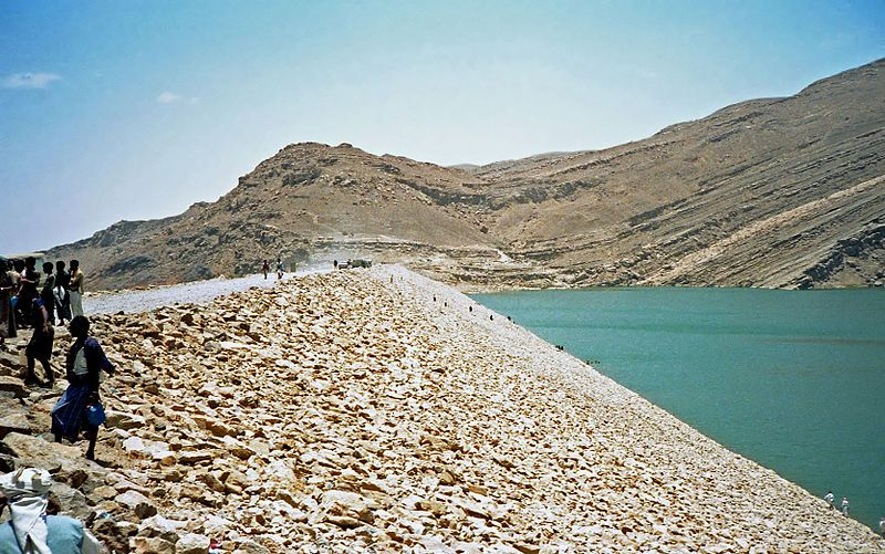 The Ancient Marib Dam | This Dam was built in Yemen in 750 B.C., long before concrete existed, yet it stood and worked for over 1,000 years.  An amazing feat of engineering in the ancient world.  For comparison, our modern Dams of today usually last 50-100 years tops!