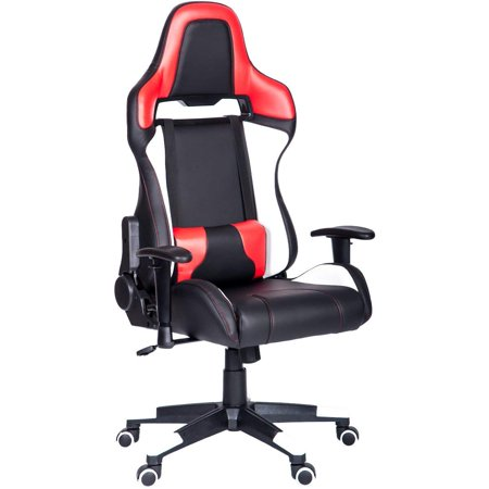 Wondrous Modernluxe Ergonomic High Back Racing Style Office Chair Pu Caraccident5 Cool Chair Designs And Ideas Caraccident5Info
