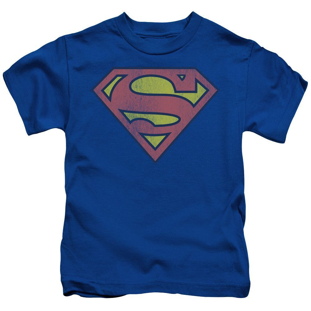 Retro Supes Logo Distressed