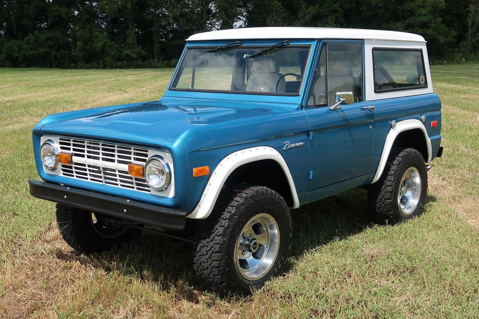 Bid For The Chance To Own A 1970 Ford Bronco At Auction With Bring