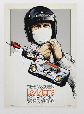 Posters Steve McQueen Le Mans Repro Advertising POSTER Japan
