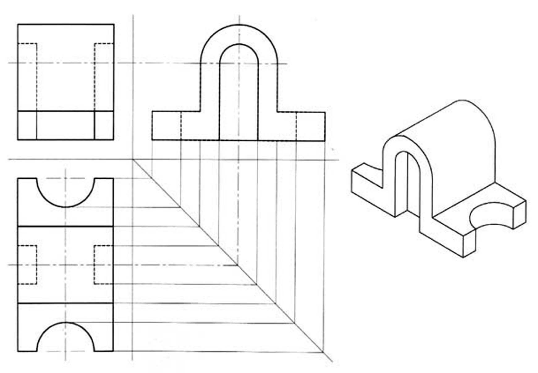 Edfbbe63b32ba679a13f3dfa57727a35 Jpg 1741 1209 Isometric Drawing Exercises Isometric Drawing Drawing Exercises
