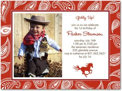 17 Best images about Western Bday Party Ideas – Wild West Birthday Invitations