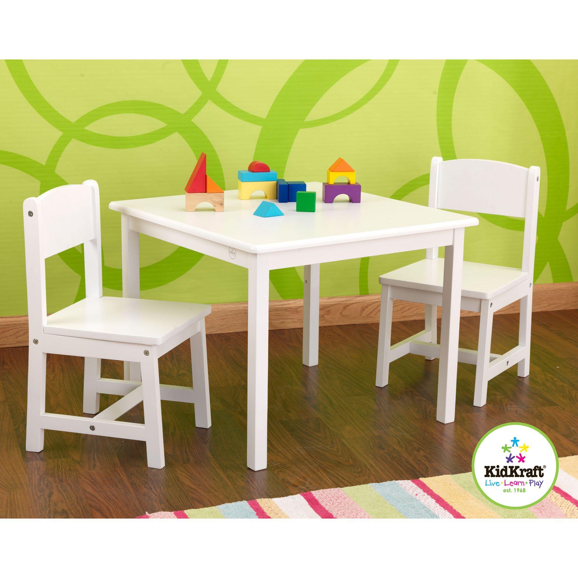 kidkraft white aspen table/chair set by kidkraft | best perfect