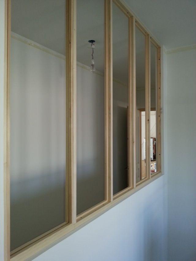 Fabrication d 39 une verri re 1 deco studio en 2019 Miroir imitation verriere