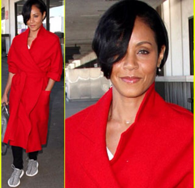 Jada Pinkett Smith S Short Hair Hair Spiration In 2019 Jada Pinkett Smith Jada Short Hair Styles