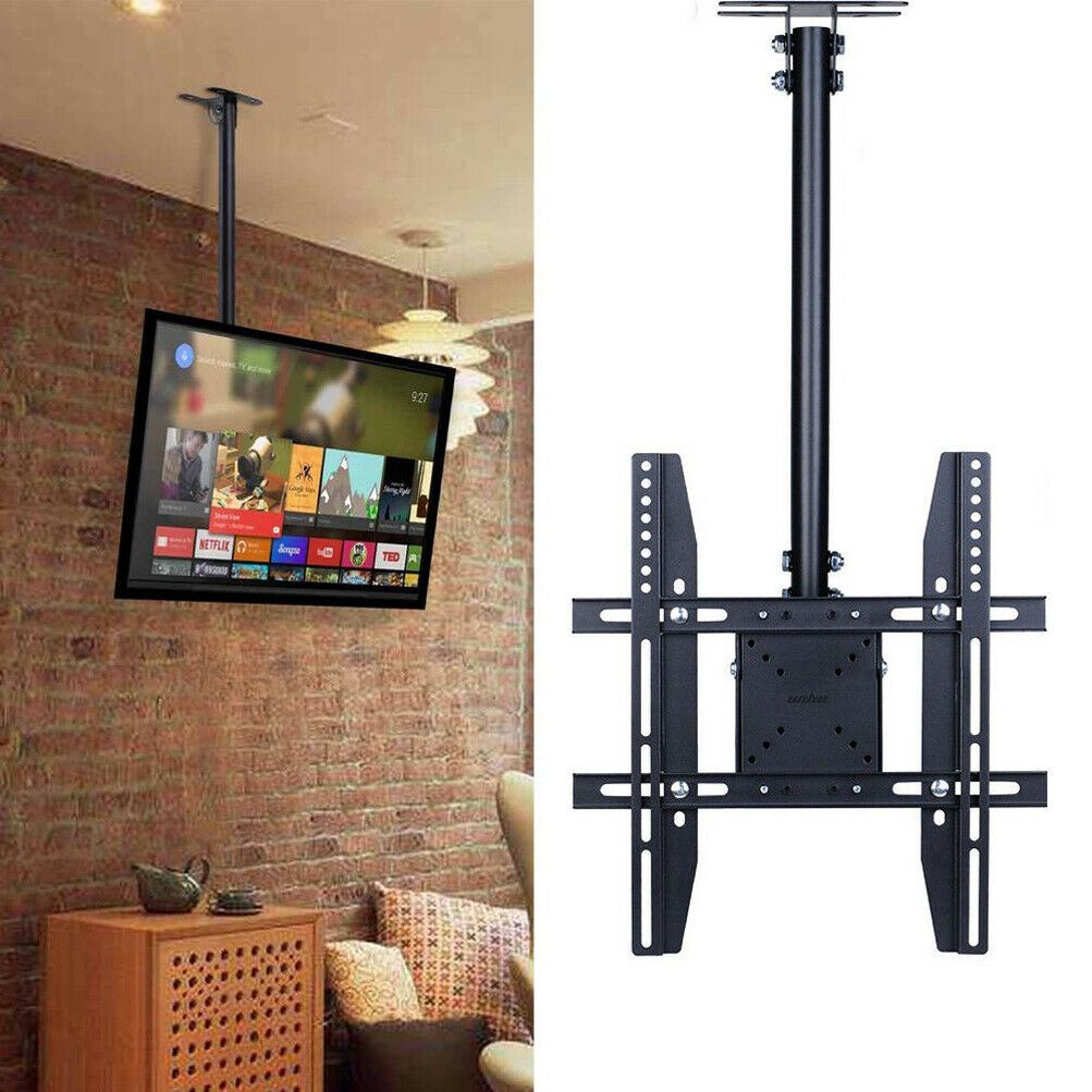 Roof Mount Tv Bracket Tv Hanging From Ceiling Mounted Tv Ceiling Tv