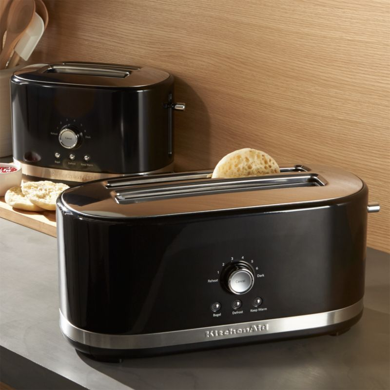 Best Kitchenaid Onyx Black Toasters Crate And Barrel In 2019 400 x 300