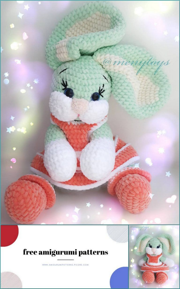 Crochet Velvet Bunny Velvet Pattern | The Crochet Crowd | 1229x768