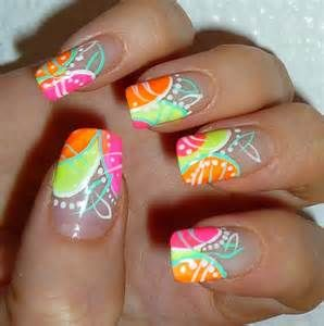 Nail Art Designs   Glow In The