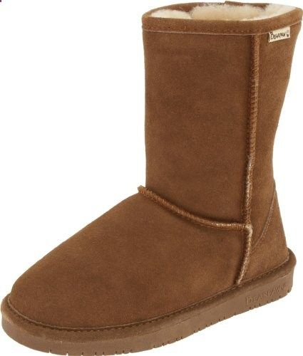 BEARPAW Women's Emma Short Boot,HickoryChampagne,8 M US. Read more about the product on the website.