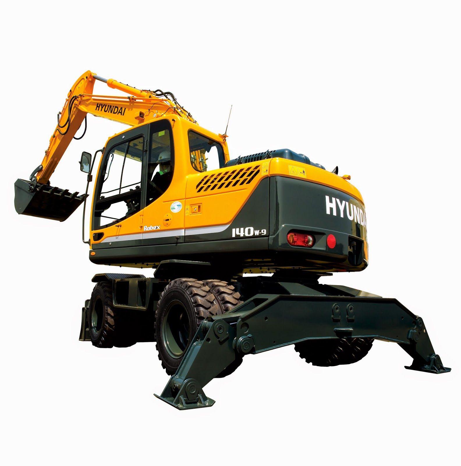 Hyundai Excavators R140w-9