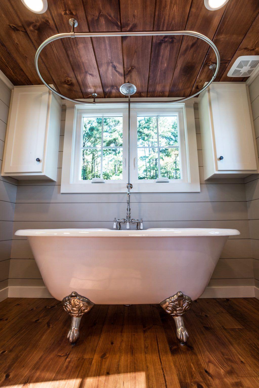 Ridgewood by Timbercraft Tiny Homes  Tiny house bathtub