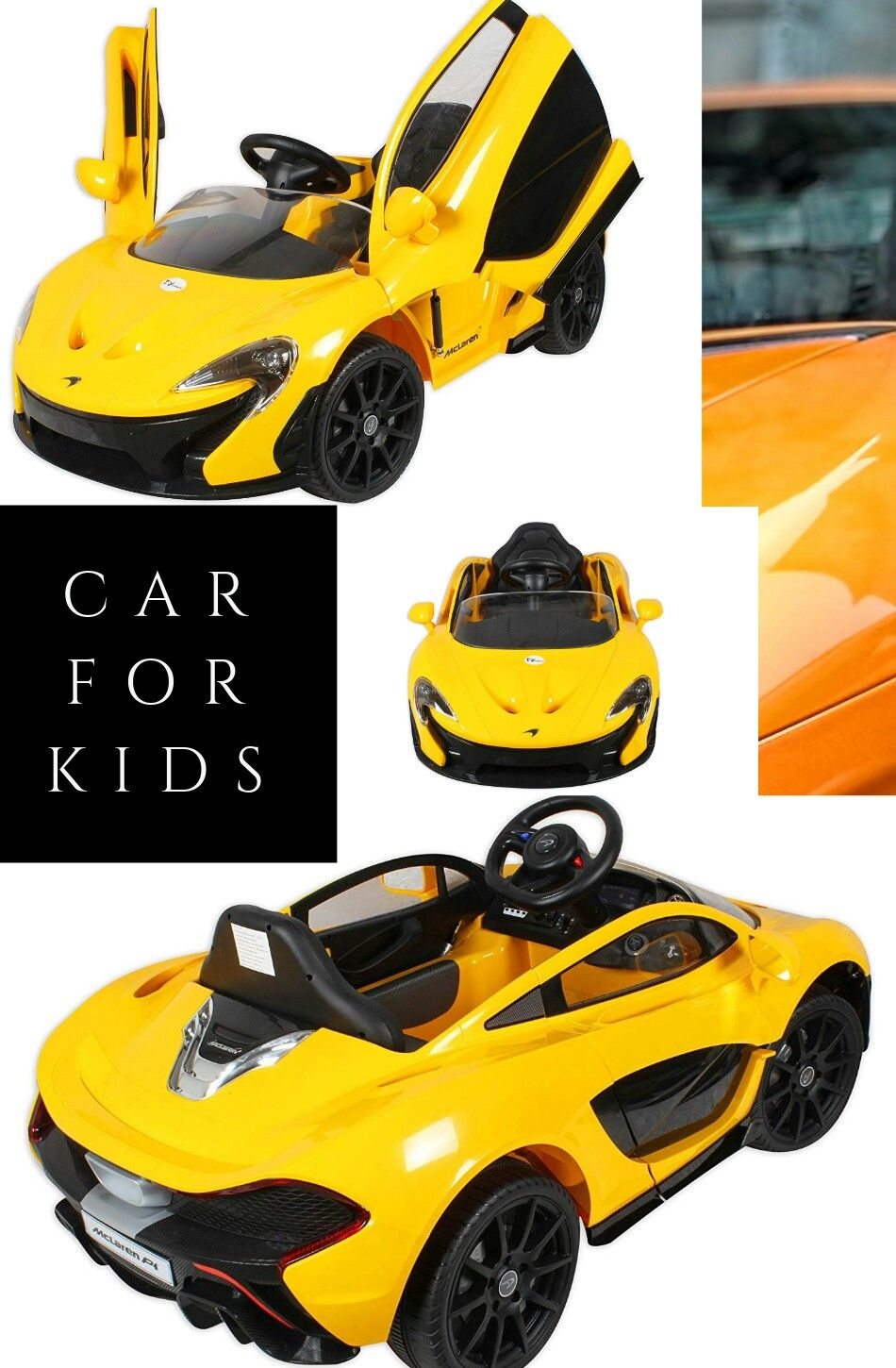 Toy House Officially licensed McLaren P1 12V 2.4G Sports