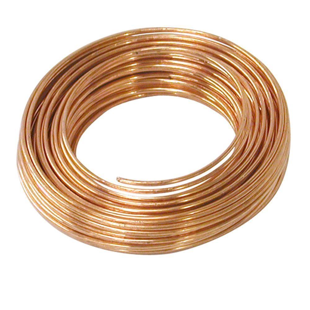 SOFT Craft /& Wire Wrapping   USA 20 Ga Pure Solid Copper Wire 100 Ft. Coil