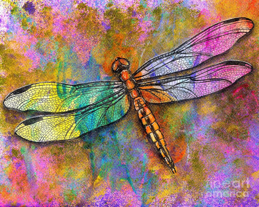 Flight Of The Dragonfly By Dion Dior Dragonfly Art Dragonfly Wall Art Dragonfly Illustration