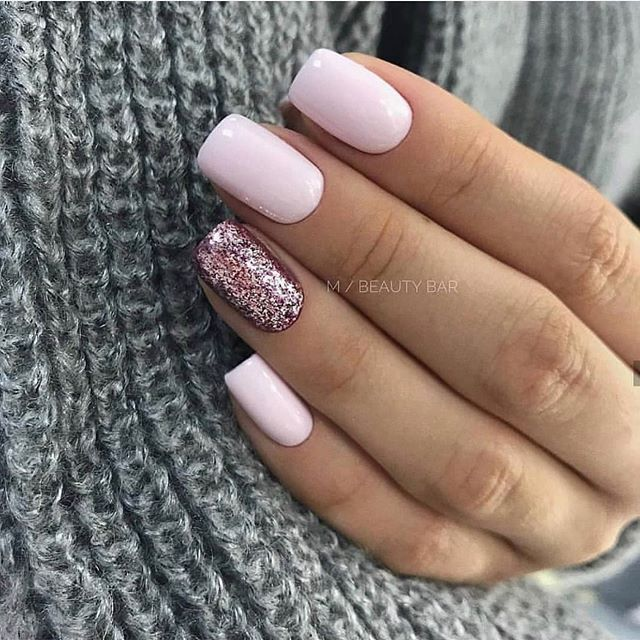 The 45 pretty nail art designs that perfect for spring looks 3