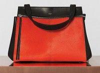 2c719da866 Celine Bright Orange Pony Calfskin Edge Medium Bag  celine  handbags ...