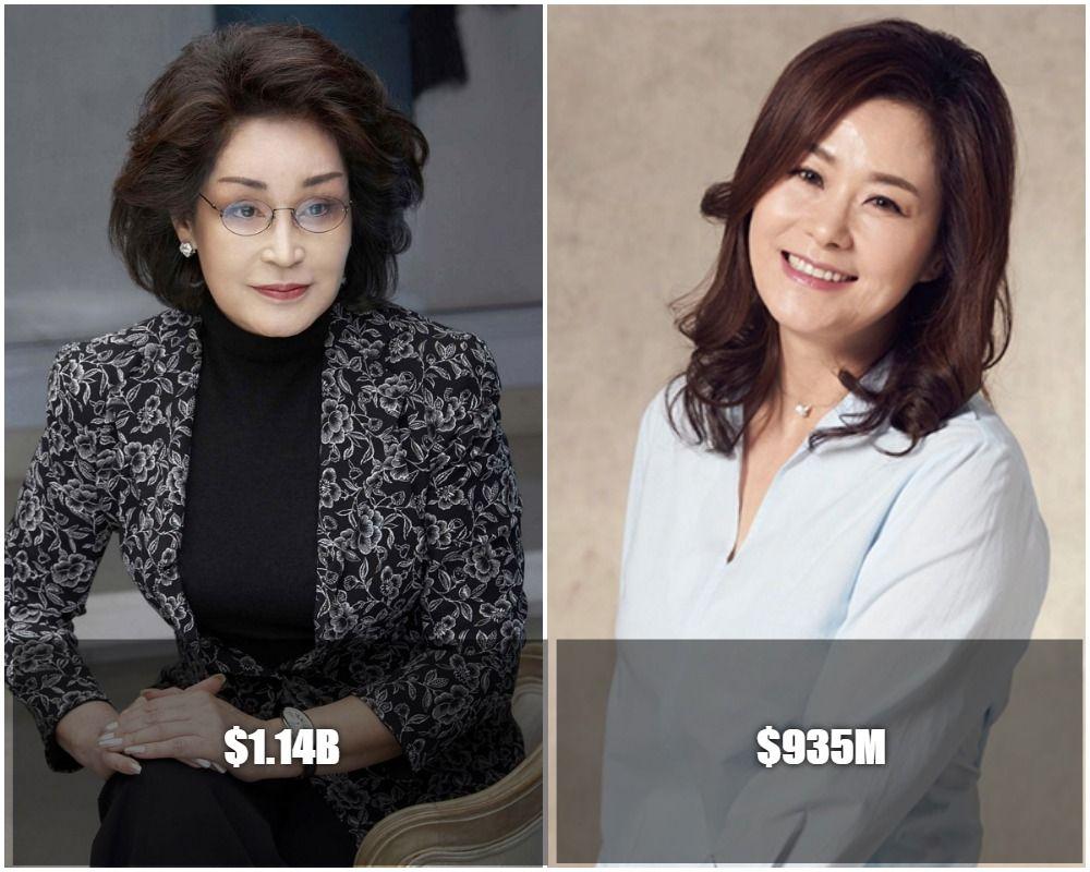 Female Billionaires Top 5 Richest South Korean Women South Korean Women Rich Women Korean Women