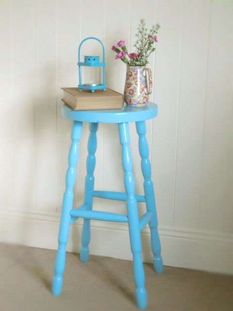 Click here to see before and after pictures of this stool