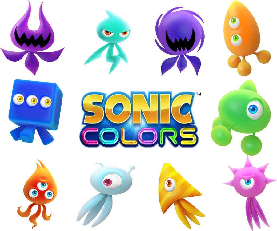 how to draw sonic colors