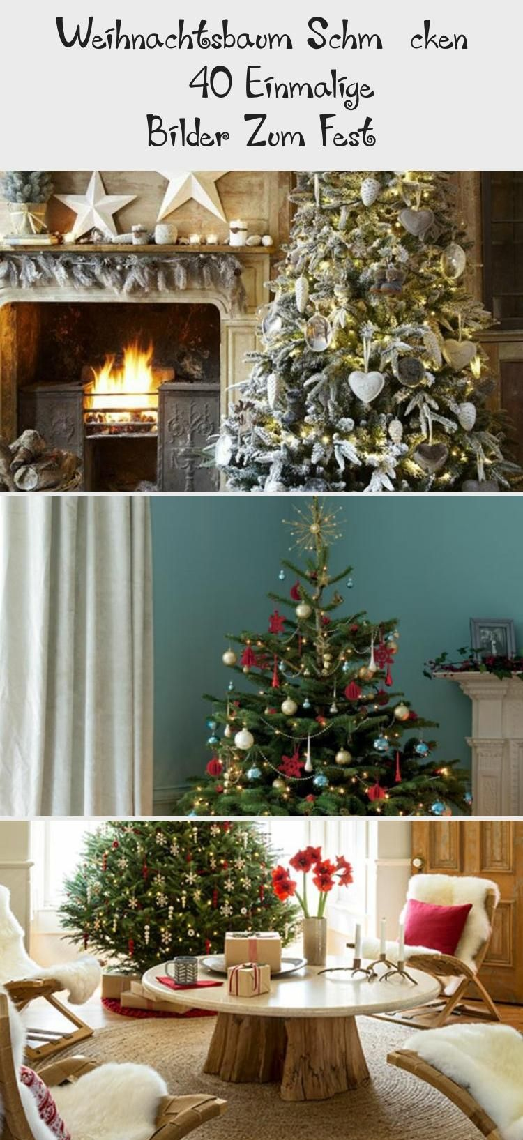 Weihnachtsbaum Schmücken – 40 Einmalige Bilder Zum Fest