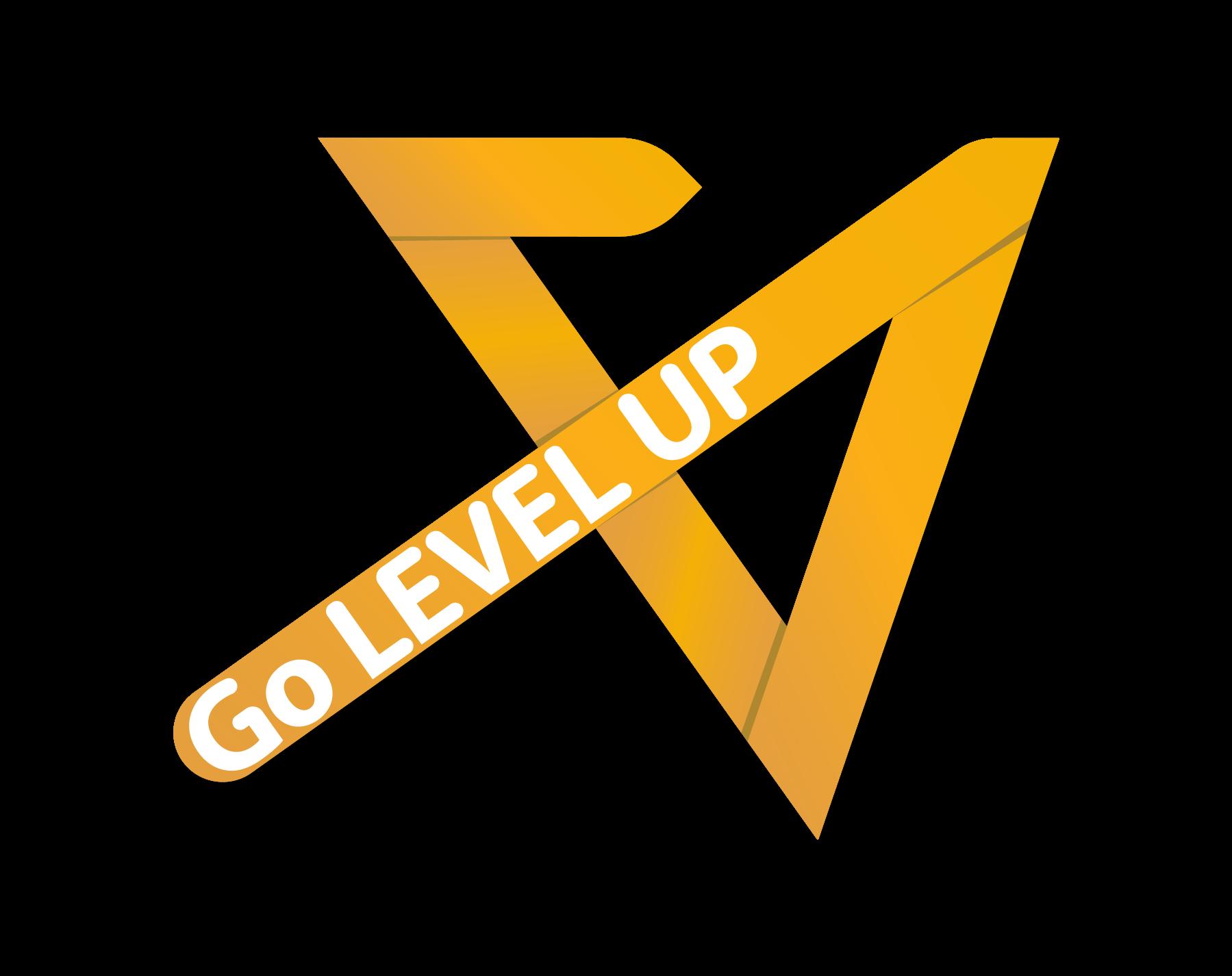 Go Level Up Logo Portfolio Logo Level Up Logo Branding