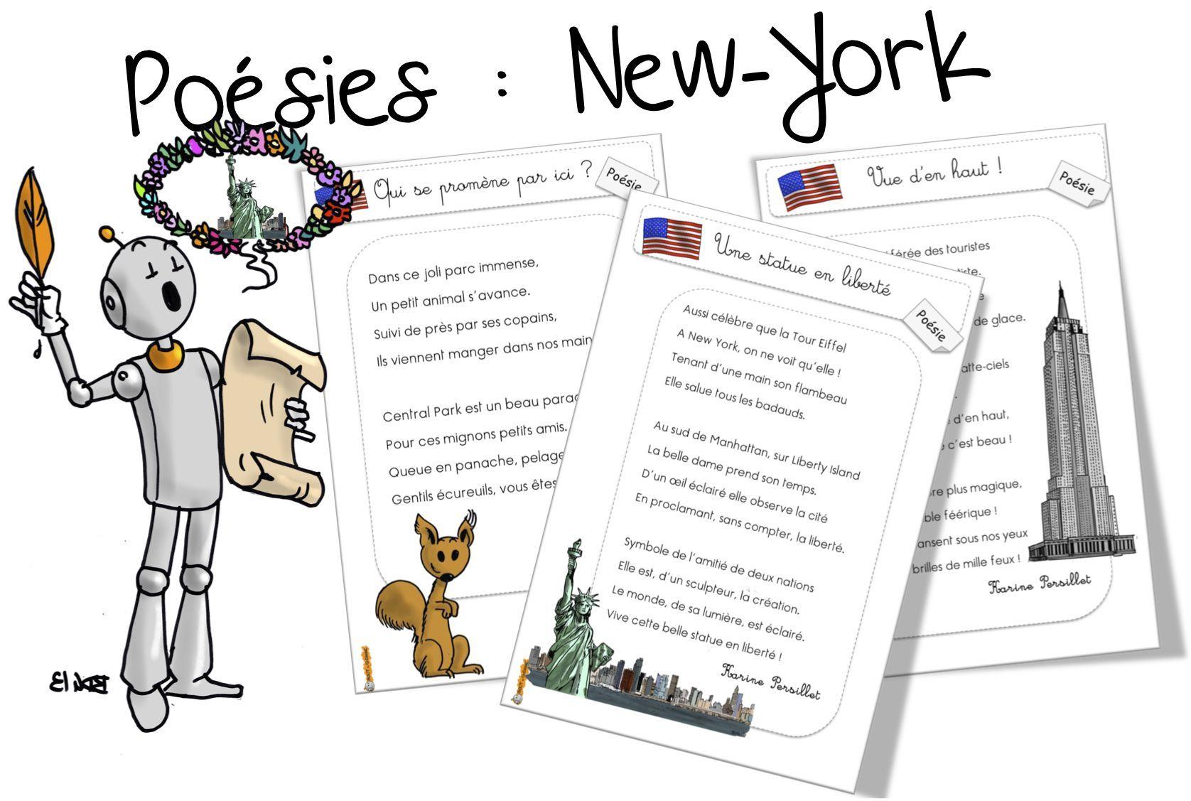 Super Poésie : New York | Bout de gomme, York et Amérique HQ16