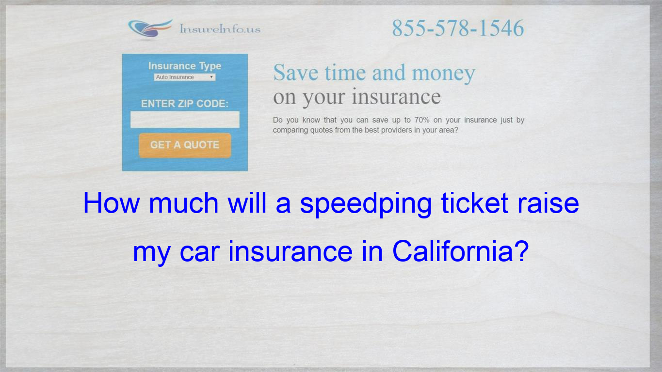 Pin On How Much Will A Speedping Ticket Raise My Car Insurance In