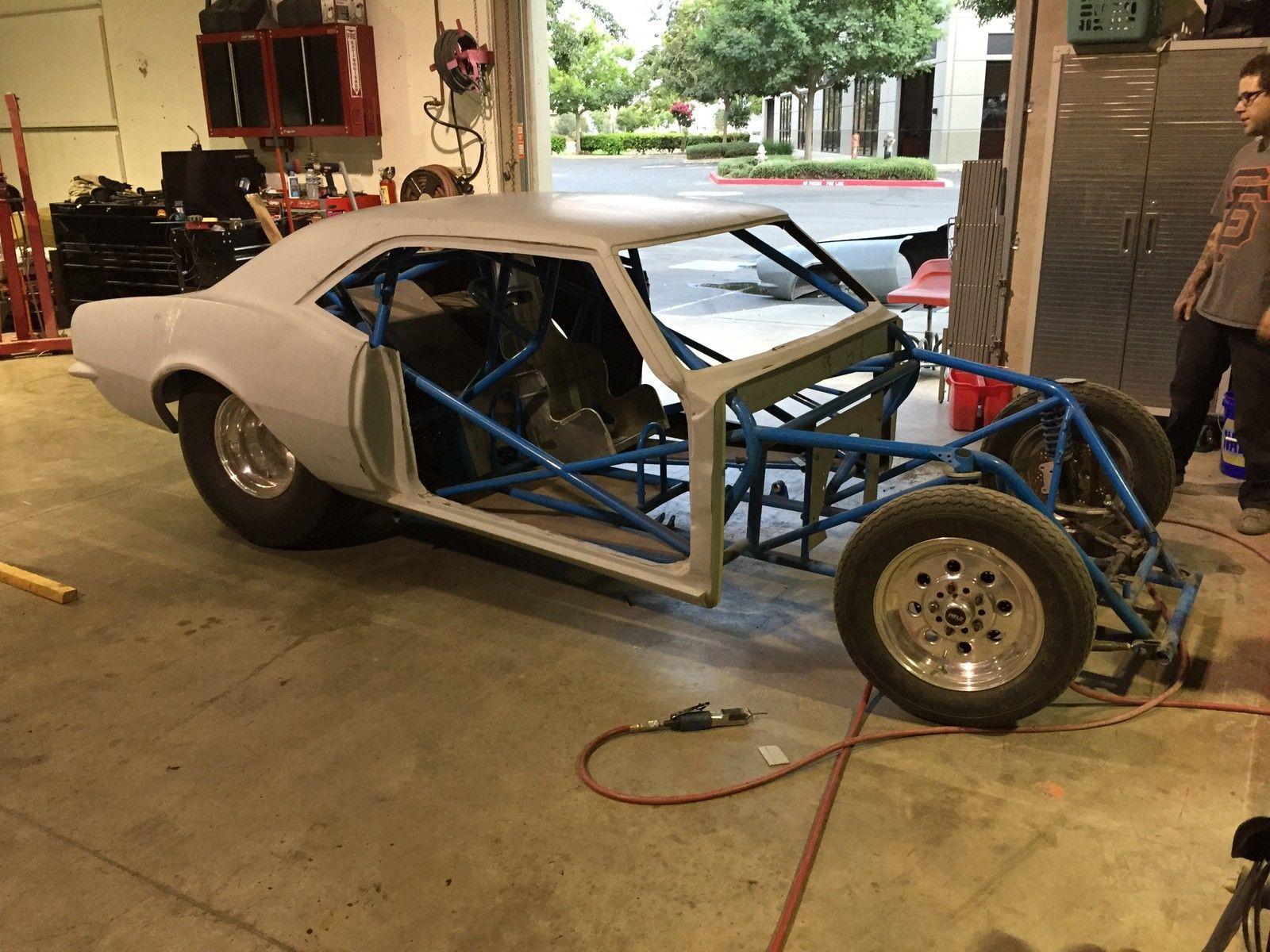 Drag Race Project 1968 Chevrolet Camaro Fiberglass Tube Chassis ...
