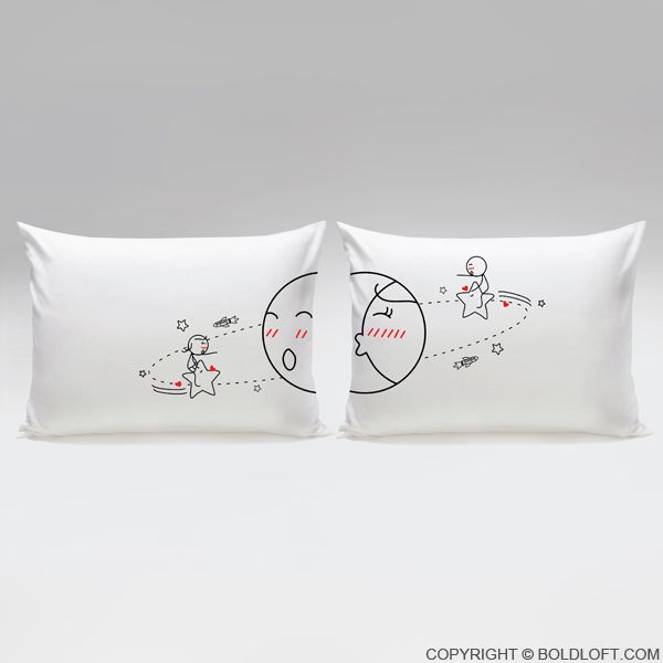 You Are My World™ Couple Pillowcases | bicis y corazones px ...