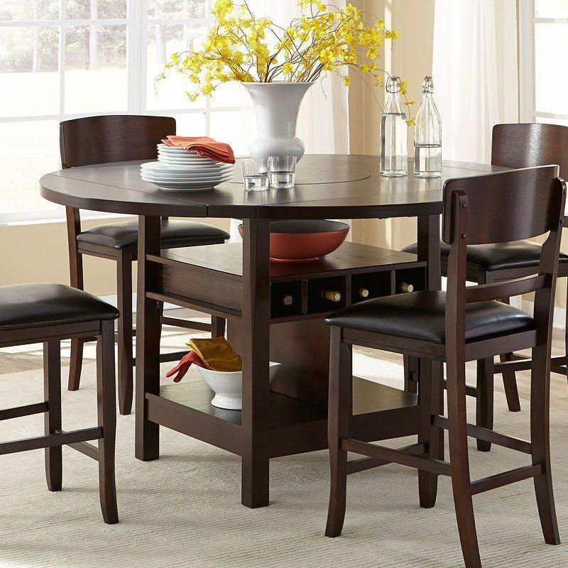 Hampton Folding Leaf Counter Height Table In 2020 Counter Height