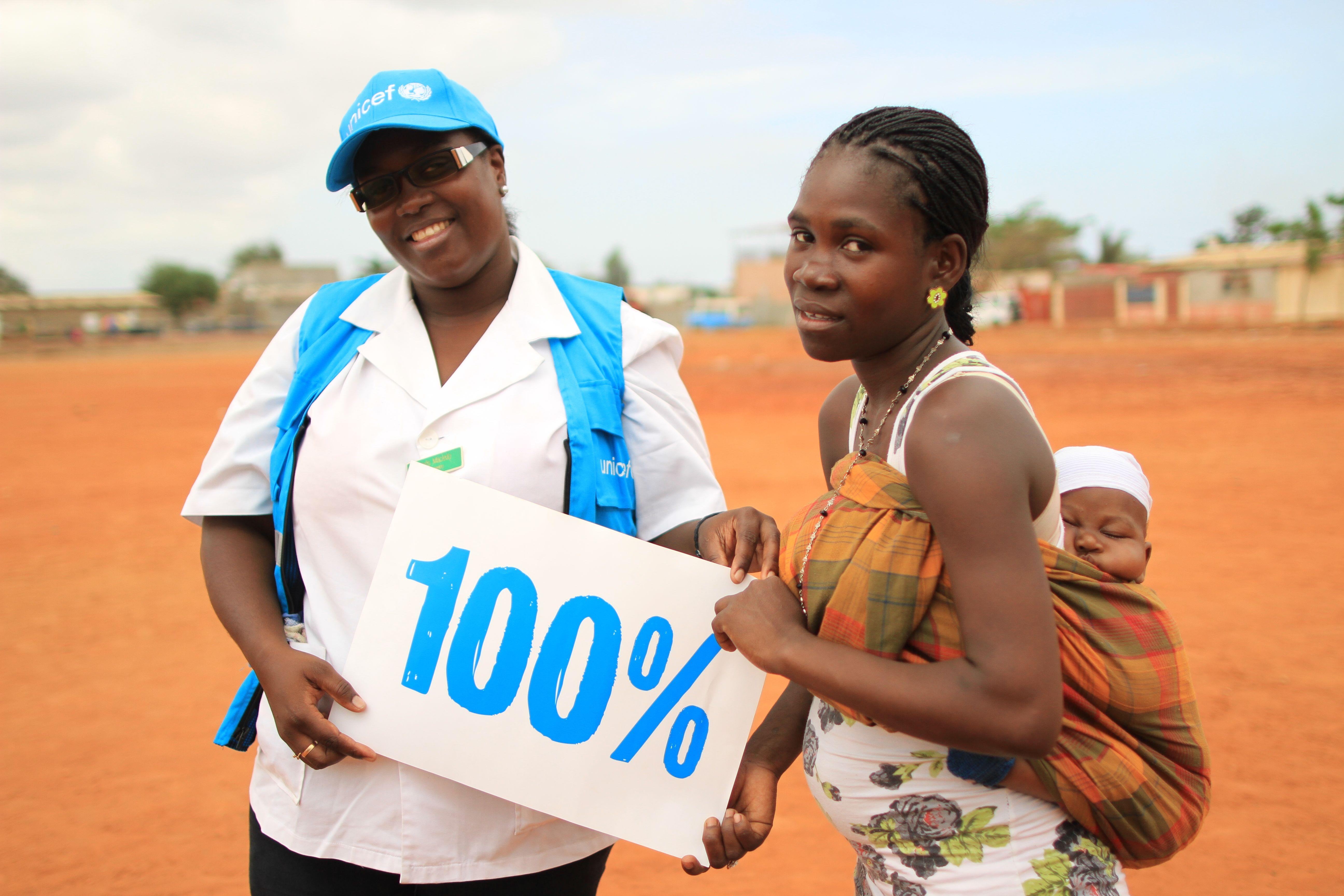 Polio konnte um 99% verringert werden. Jetzt wollen wir 100%!