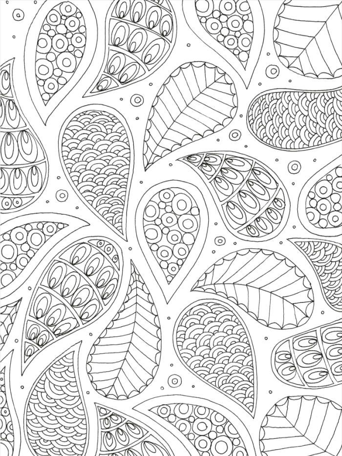 coloring pages patterns | Lizzie Preston - Pattern colouring page for adults ...