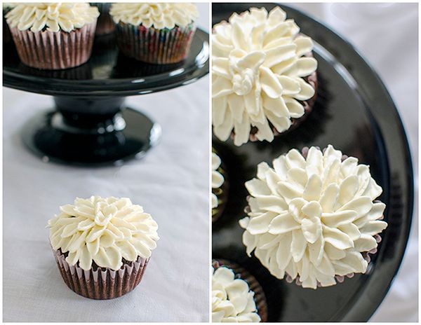 Mum Cupcakes Frosting Technique #cupcakefrostingtips