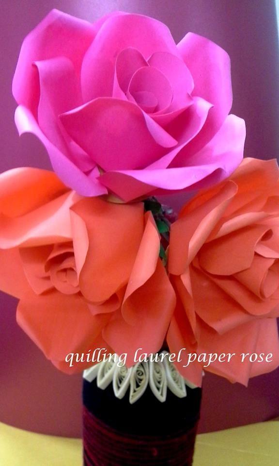 Hand made paper flower handicraft pinterest hand made paper flower mightylinksfo
