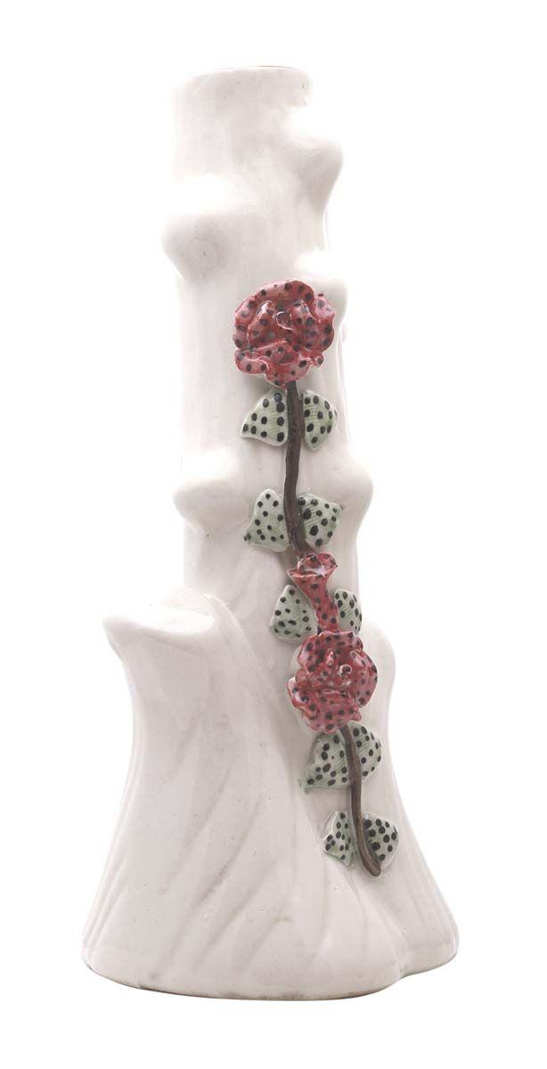 Bulk Wholesale Colorful Ceramic Decorative Vase Floral Motif Art