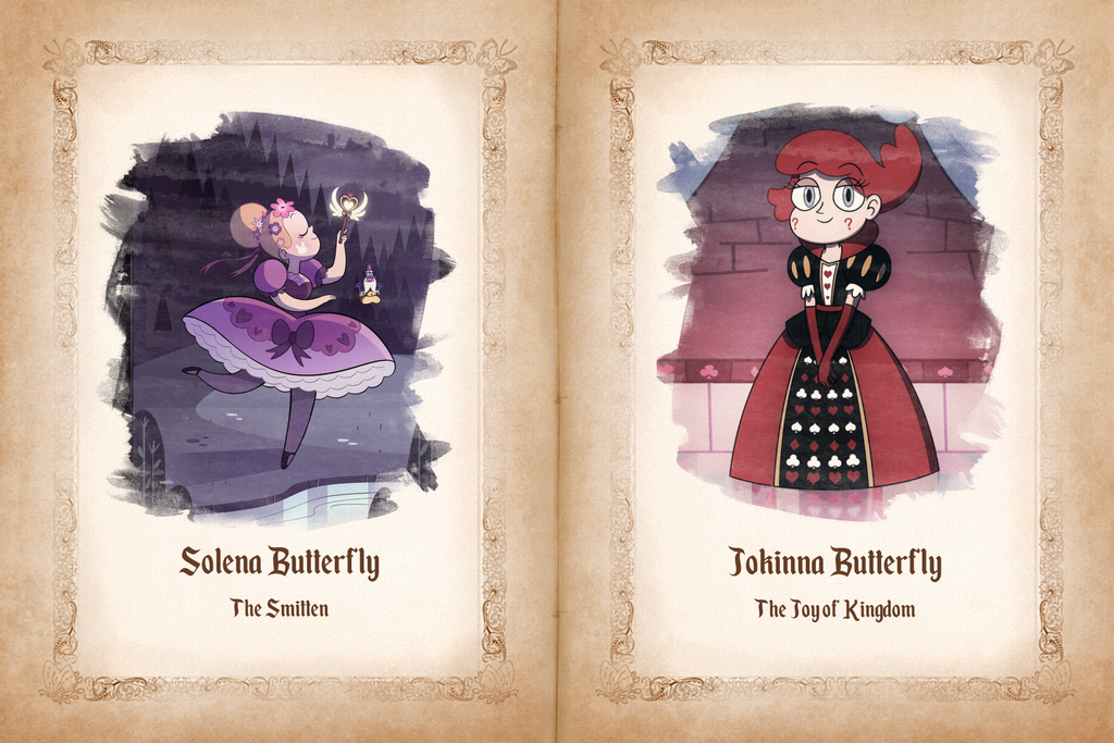 The First Princesses Of Mewni, Daughters Of Urania