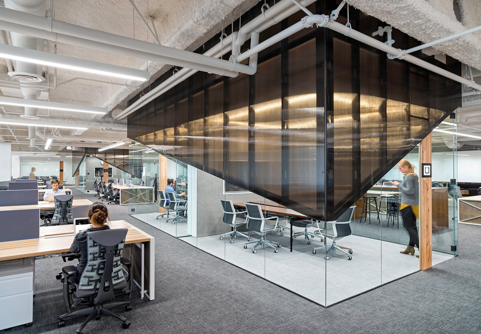 Which Office Is Cooler Uber Vs Lyft Office Design
