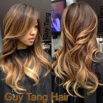 Asian ombre