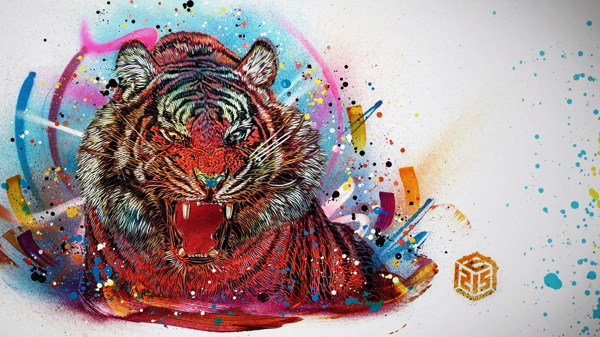 Far Cry 4 Tiger Art Tiger Art Far Cry 4 Tiger Wallpaper