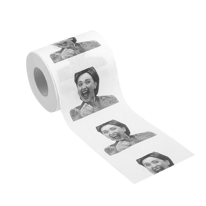 Hillary Clinton Donald Trump Dollar Humour Toilet Paper Gift Dump ...
