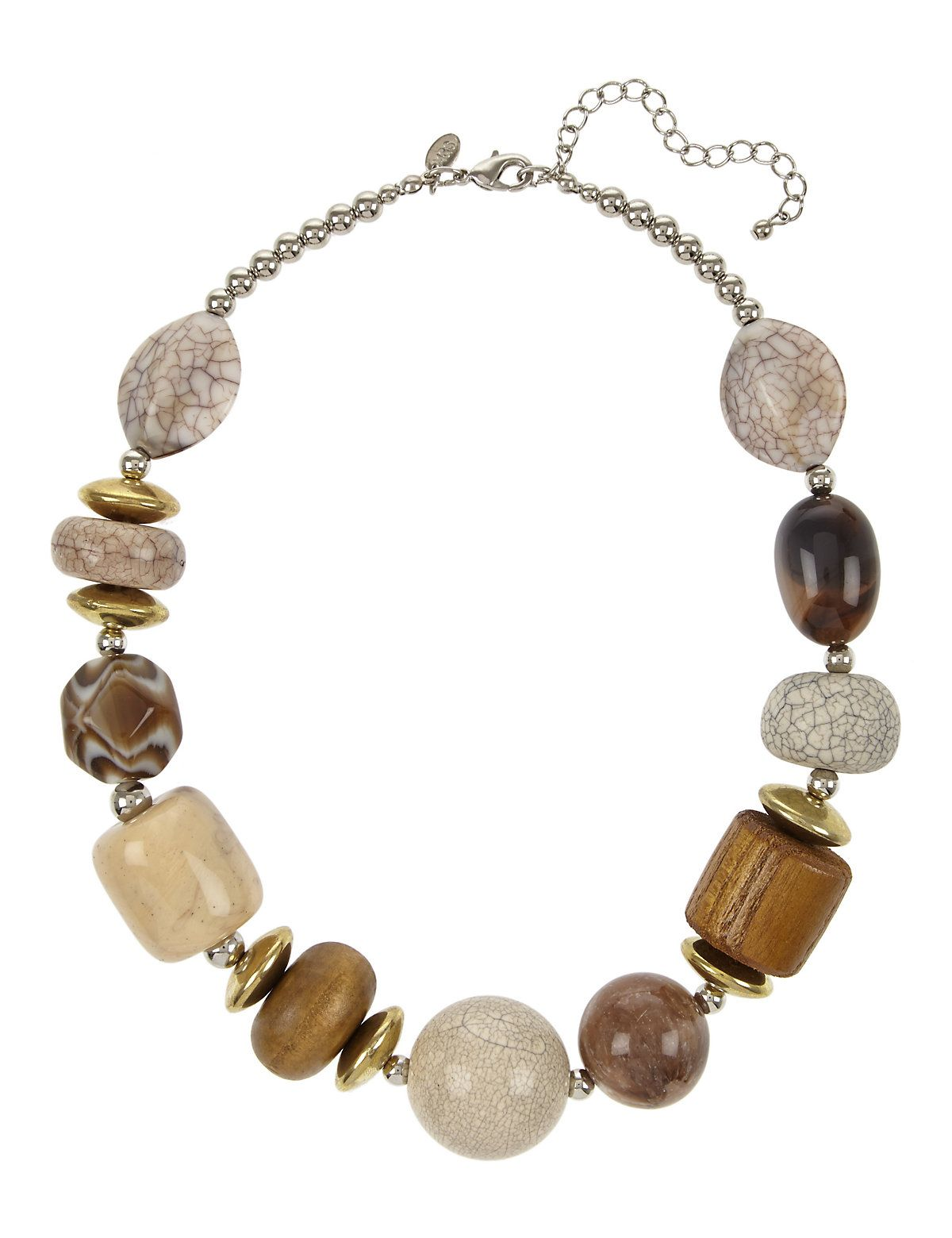 Coffee Stacker Necklace Women jewelry, Fashion necklace