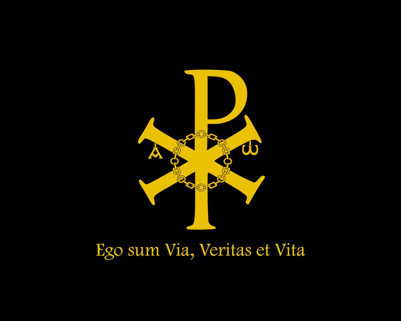 Chi Rho Wallpaper The Sign Of Truth And Life By Xadren On