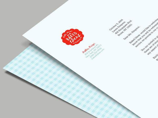 20 Inspiring Letterhead Designs   wedding invitation   Pinterest ...